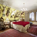 211 Central Park West, taxidermy apartment, apartment interior, with animals
