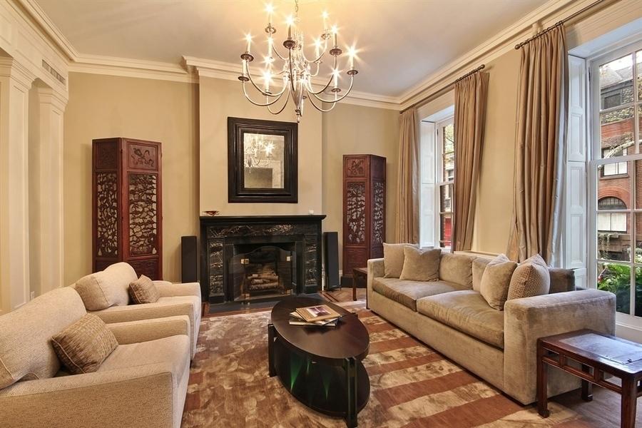 273 Hicks Street, Michael Fleisher townhouse, Brooklyn Heights, Michael Fleisher home interior