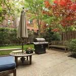 Clinton Hill real estate, modern carriage house, 407 Vanderbilt Avenue, private Brooklyn garden
