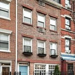 651 Washington Street, NYC rowhouse, west village rowhouse, Federal rowhouse