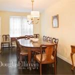651 Washington Street, NYC rowhouse, west village rowhouse, rowhouse dining room