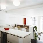 7th Street Residence, Pulltab Design, interior green walls, custom panel systems, green interior design