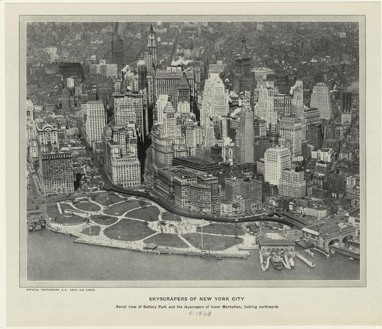 A view of Lower Manhattan from 1910.