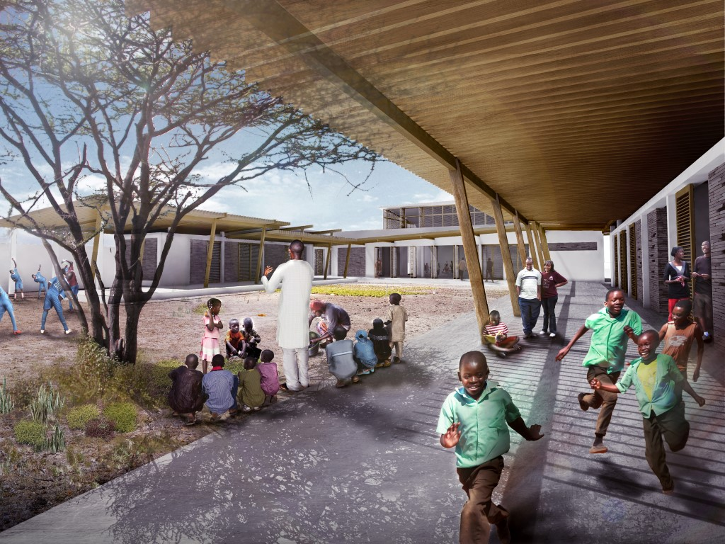 bksk, bksk africe, bksk design of a learning center, lambaye learning center bksk