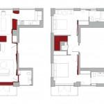 Architecture in Formation, steel interior design, modern NYC apartments, Chelsea interior design