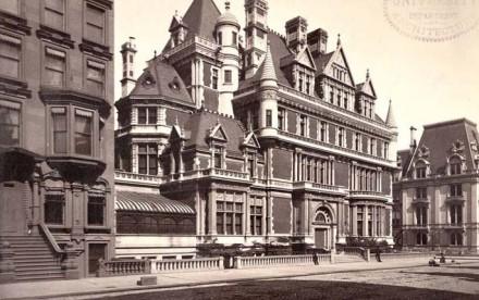 Cornelius Vanderbilt II House-Fifth Avenue-NYC, gilded mansions, 5th avenue mansions