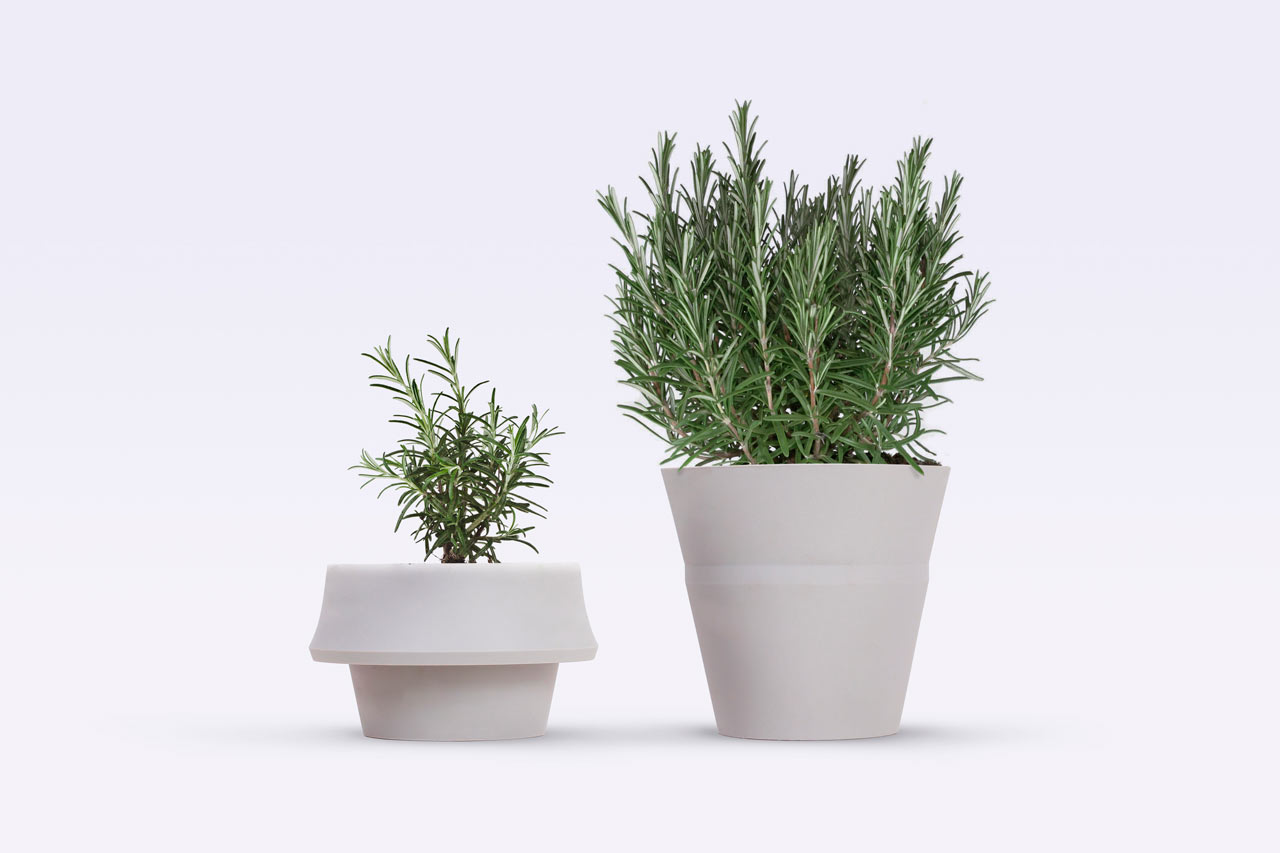 Daily Link Fix A Flower Pot That Grows With Your Plant
