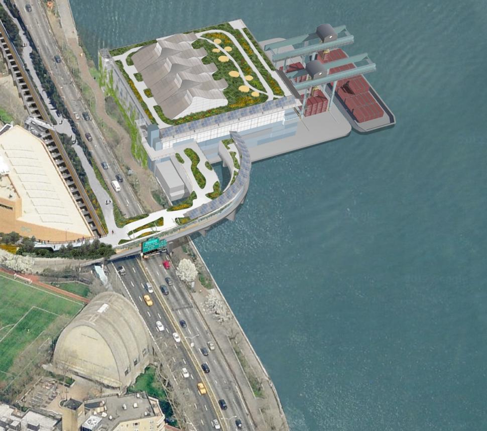 High-Line-esque park rendering 2