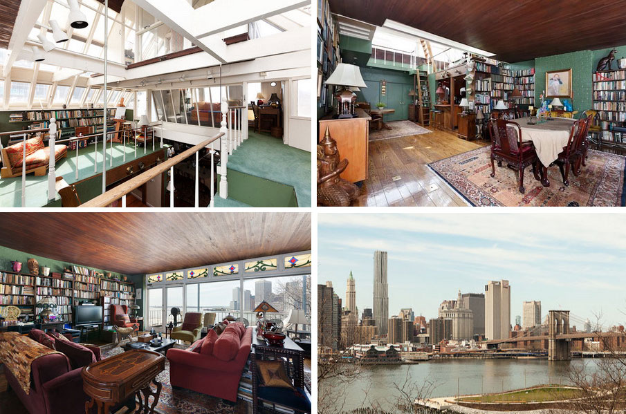 norman mailer penthouse nyc, norman mailer home, penthouse nyc