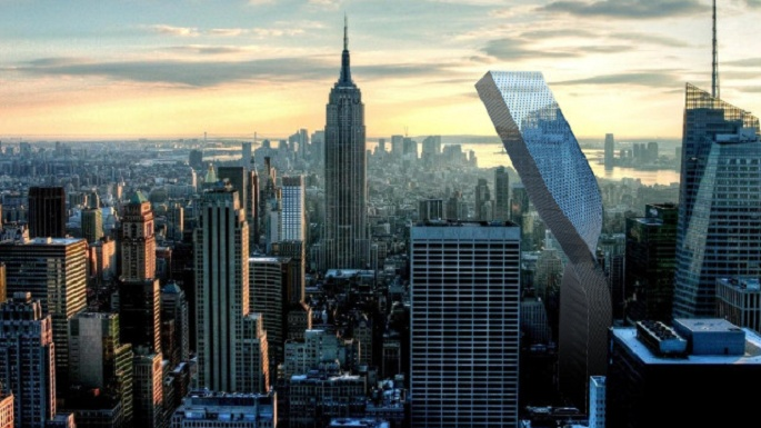 Paolo Venturella, Flex Tower, NYC architecture ideas, photovoltaic panels