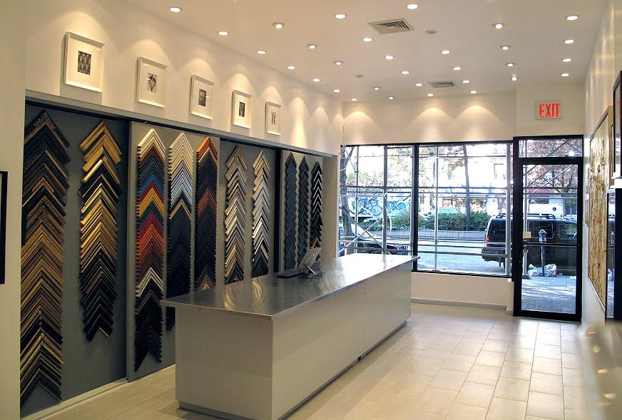 Paris Framemakers, Upper West Side stores, framing stores, Matthew Namie
