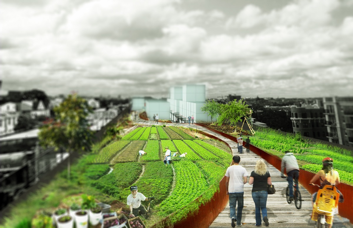 3rd Prize, Make It! Grow It! by Song Deng and Rene Biberstein of Toronto, Canada