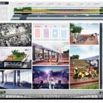 Queensway Connection, NYC design competition, Queensway, Upside Down Bridge