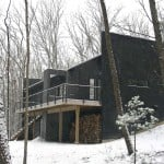 Baryville NY, Shadow Architects, RLW Cabin, Upstate New York real estate, eco-friendly architecture, green home design, upstate New York cabins