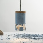 Slash Lamp, Dragos Motica, concrete design, contemporary lighting, unusual lamps