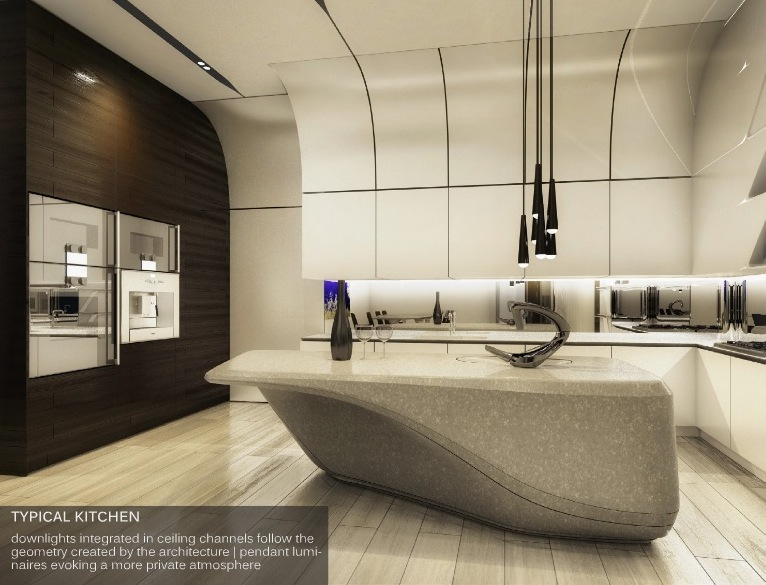 First Look Inside Zaha Hadid S Futuristic Condos Planned
