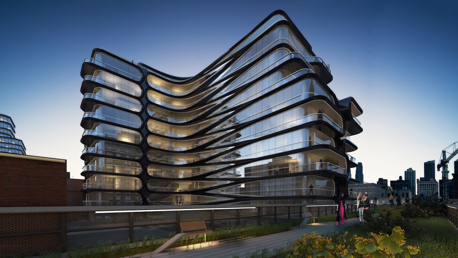 520 west 28th, zaha hadid, starchitecture, starchitecture nyc, zaha hadid's first nyc project, zaha hadid nyc, related companies