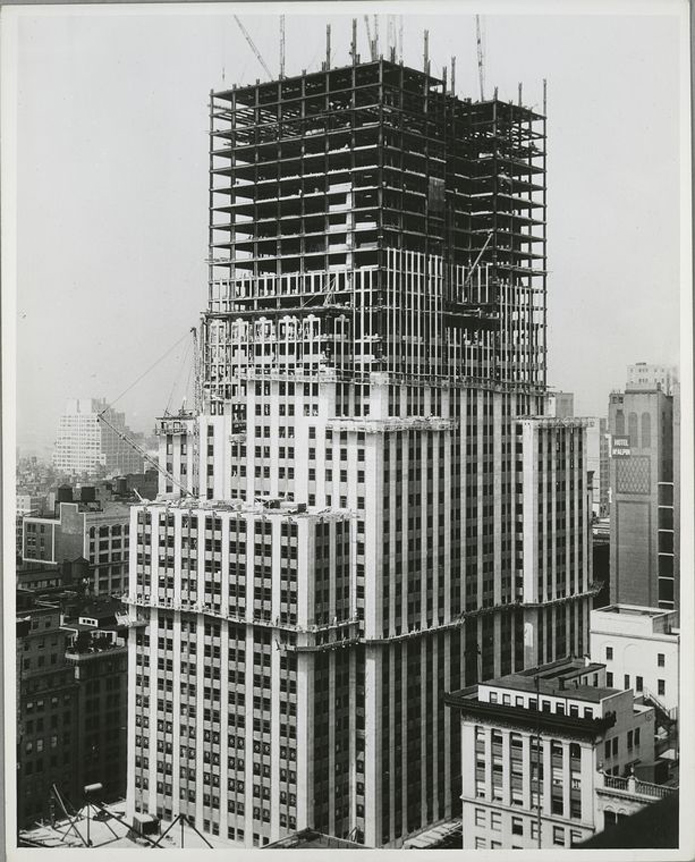 Flashback: See Five Famous New York City Buildings Under ...