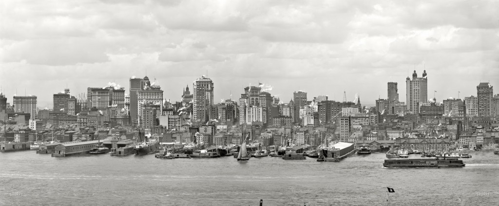 The New York Skyline Over The Years 6sqft