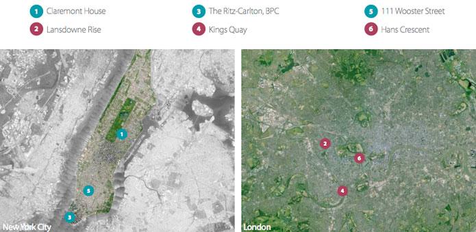 New York vs. London, NYC real estate, London real estate, NYC real estate comparisons