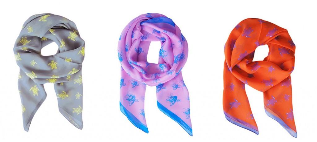 terracotta scarves, terracotta design, local nyc design, alina cheung