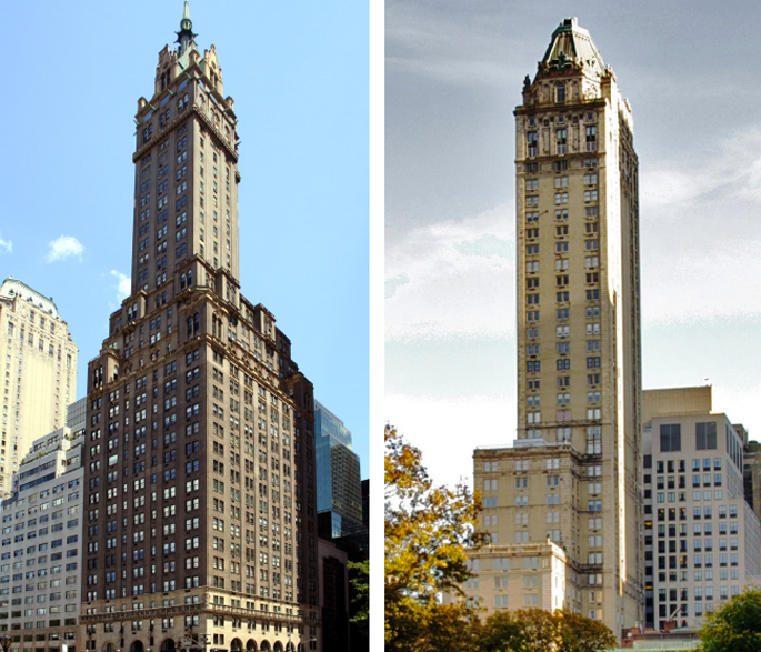 The Sherry Netherland Hotel, The Pierre, NYC condo hotels, NYC luxury real estate