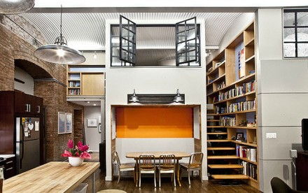 industrial loft, design42 architecture, beautiful lofts, nyc lofts