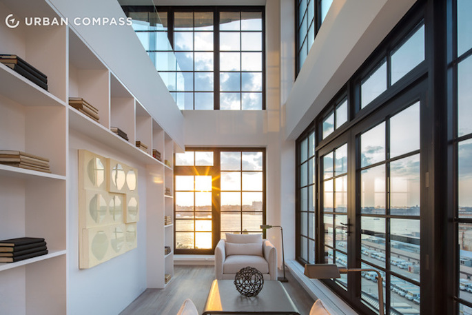 20 million penthouse has it 39 s own garage in the sky 6sqft for Penthouses for sale in nyc