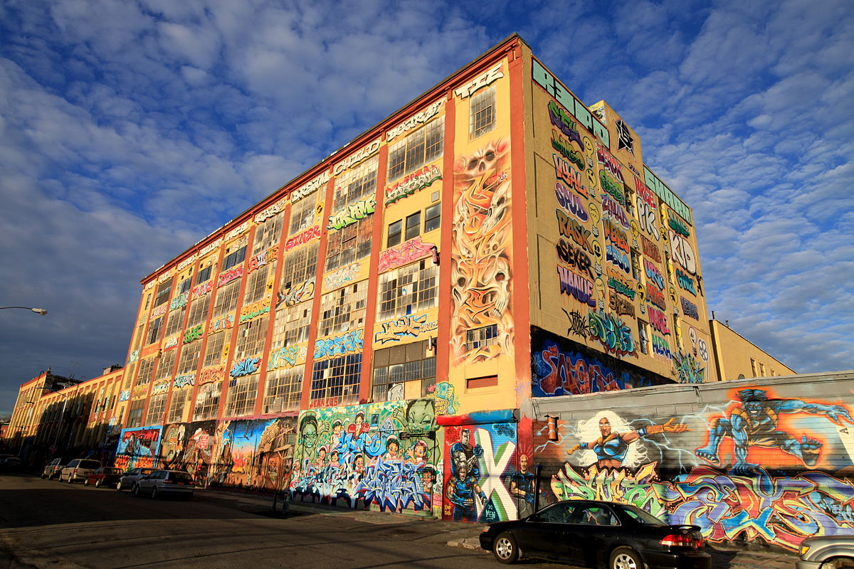 5Pointz, graffiti museum, Long Island City developments, aerosol art