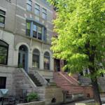 historic Brooklyn architecture, 66 Midwood Street, Peter Yost, Prospect-Lefferts Gardens, Romanesque Revival townhouse