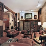 719 Greenwich Street, apartment made of salvaged ship parts, exposed beams