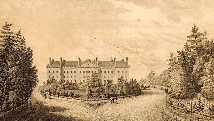 Bloomingdale Asylum-Columbia University-NYC