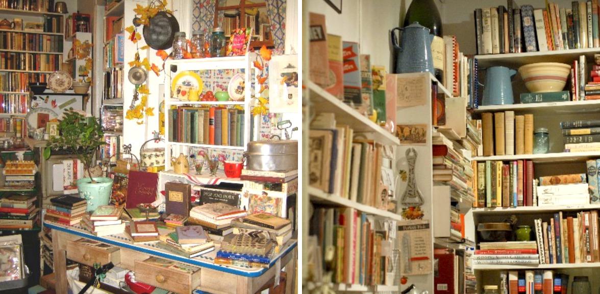 Bonnie Slotnick Cookbooks, Greenwich Village book stores, cookbook stores, historic cookbooks