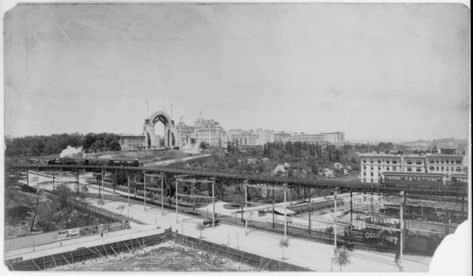Cathedral of St. John the Divine in Construction