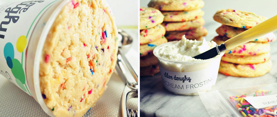 Chloe Stinetorf, Chloe Doughy, cookie dough delivery service, confetti cookies