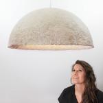 Danielle Trofe, Ecovative Design, Mush-Lume collection, mushroom lights, biodegradable design, NY design