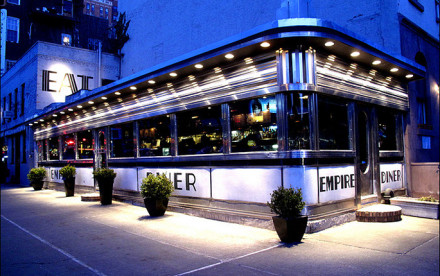 Empire Diner chelsea nyc, Empire Diner 2010, chelsea nyc diners