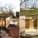 Gray Organschi Architects' designed The Cottage, a small tranquil guesthouse that optimizes visual and environmental qualities of its area.