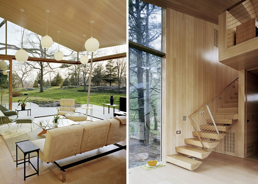 Tranquil Wooden Cottage By Gray Organschi Architects Is