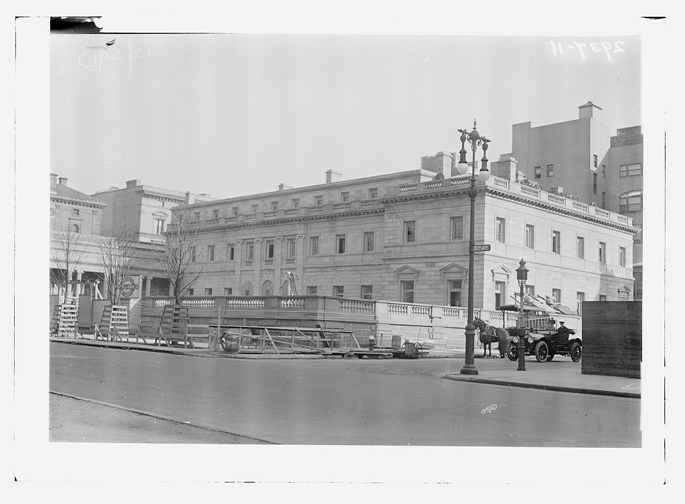 Henry Clay Frick Home Under Construction-Fifth Avenue-NYC