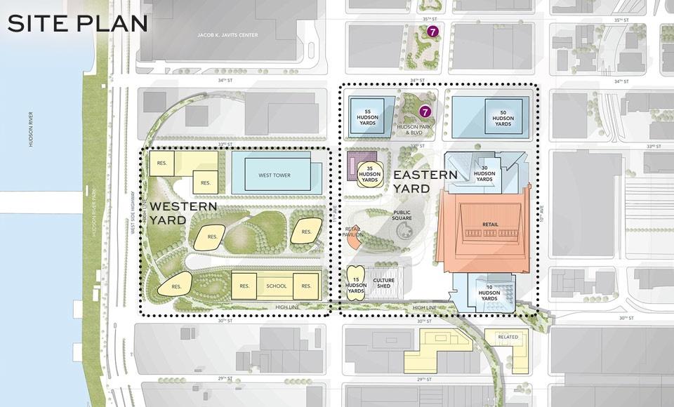 Hudson Yards Master Plan