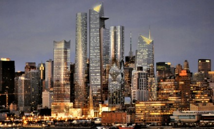 NYC planned communities, Hudson Yards, Hudson Yards Master Plan, Kohn Pederson Fox