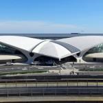 JFK TWA Terminal, Eero Saarinen, NYC landmarks, neofuturistic architecture