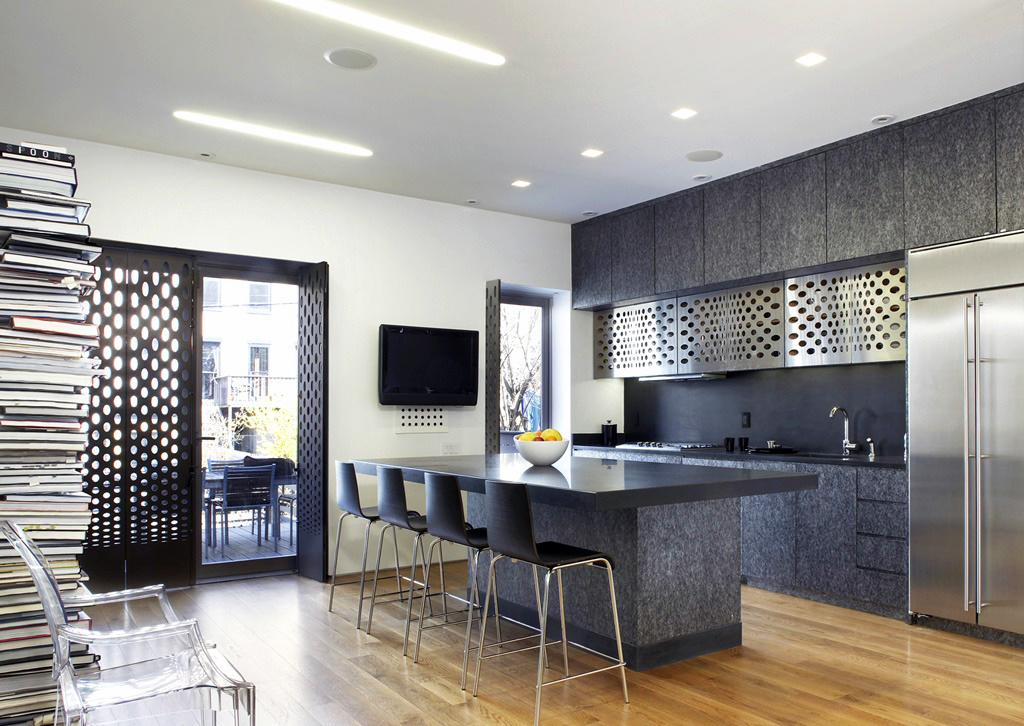 giant magnetic wall by slade architecture stands out in. Black Bedroom Furniture Sets. Home Design Ideas
