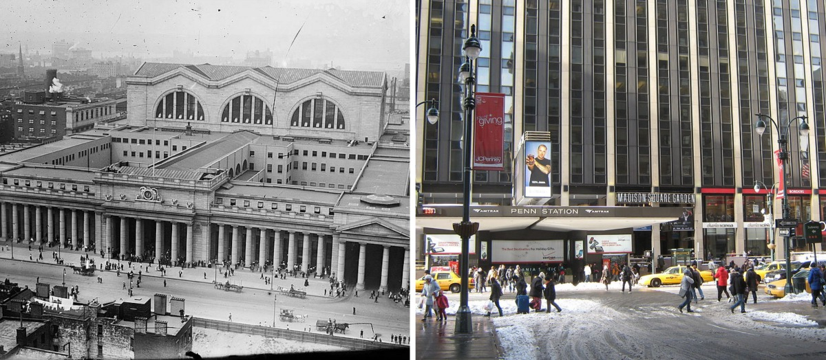 Original Penn Station, Pennsylvania Station, McKim Mead & White, lost NYC landmarks