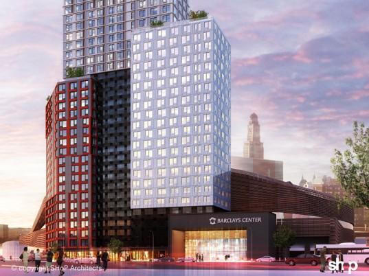 SHoP Architects b2 brooklyn, SHoP Architects, b2 brooklyn, world's tallest modular tower, new york's tallest modular tower