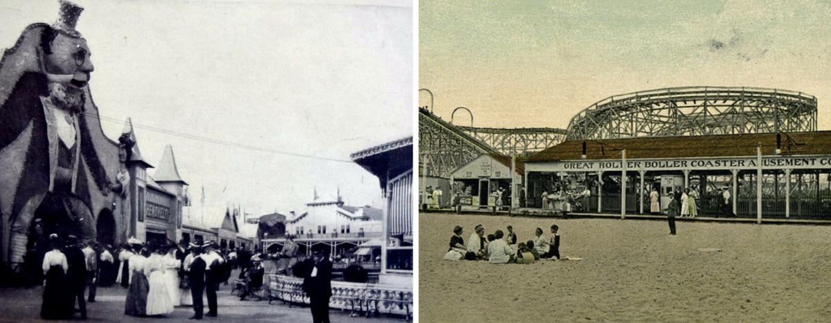 Happyland, South Beach Staten Island, Staten Island beaches, historic Staten Island photos, historic amusement park photos
