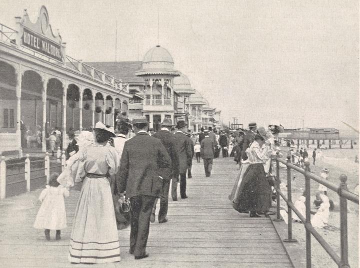 South Beach Staten Island, Staten Island beaches, historic Staten Island photos, historic beach photos