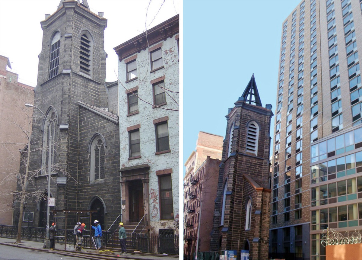 St. Ann's Church, NYU dorm, NYU Founder's Hall, NYC preservation battles