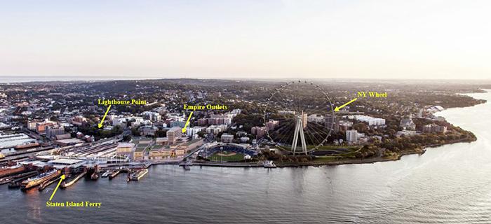 St George Staten Island Lighthouse Point Redevelopment